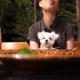 絶品お肉料理!!軽井沢「ピレネー」で愛犬エマとディナー(犬連れペット可・テラス席(雨天時OK))#犬連れ軽井沢旅行